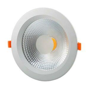 LED21 LED SPOT COB panel vestavný 15W 175mm 1200lm 230V, STUDENÁ BÍLÁ